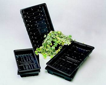 Seed Trays 1/2 Tray Pots Containers & Baskets > Plantpak (Trays)