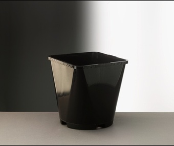 AEROPLAS 3L SQUARE/ROUND BLACK 46/net Pots Containers & Baskets > Aeroplas containers