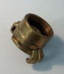 Brass Snap Coupling Female Thread 1""