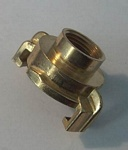 Brass Snap Coupling Female Thread 12mm