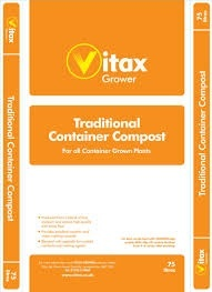 Vitax Traditional Container Compost 75LT Growing Media > Vitax