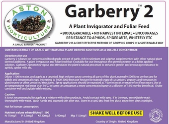 Aston Garberry 2 in 5lt Soil Association Approved Product > Soft Fruit