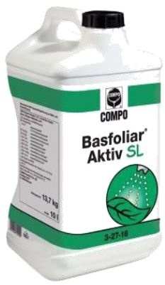 Basfoliar Aktiv 3-27-18-TE 10lt Fertilizer > Liquid Feed