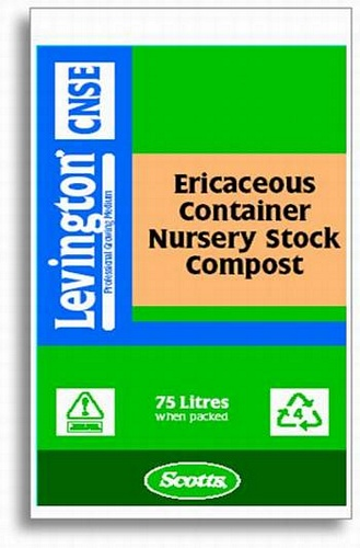 Levington CNSE Ericaseous Nursery Stock Compost 75L Growing Media > Levington