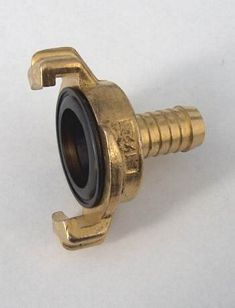"Brass Snap Hose Coupling 1/2"" (formerly stock code QUI431) Irrigation & Capillary Matting > Couplings"