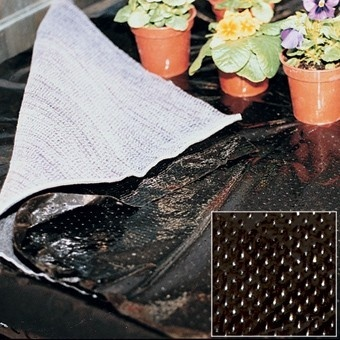 Micro Perforated Black Polythene2m x 200m Polythene > Black Perforated Film