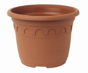 Roma Pots 2.4L Terracotta 2720  76/case Pots Containers & Baskets > Soparco