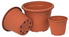 Roma Pots 5.9L Terracotta 2775  56/pack Pots Containers & Baskets > Soparco