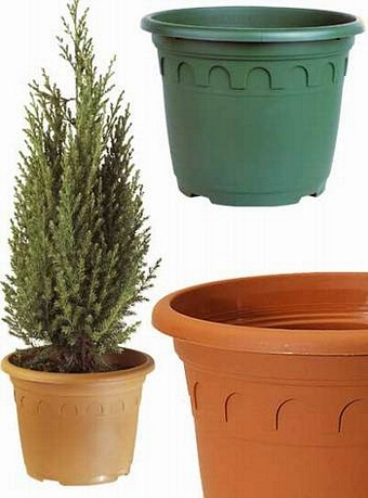 Roma Pots 25.0L Terracotta 15/pack Pots Containers & Baskets > Soparco