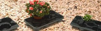 Pot Trays MT11/12 4 per Danish Troley Shelf Pots Containers & Baskets > Plantpak Pot Trays