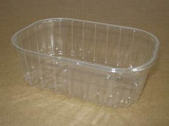 Punnet F250/1 50mm Clear PET 250grm Packaging > Punnets