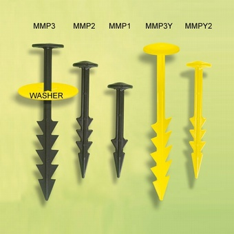 Mulch Mat Pegs MMP3 19cm MUL019 1000/pack Ground Cover > Pegs