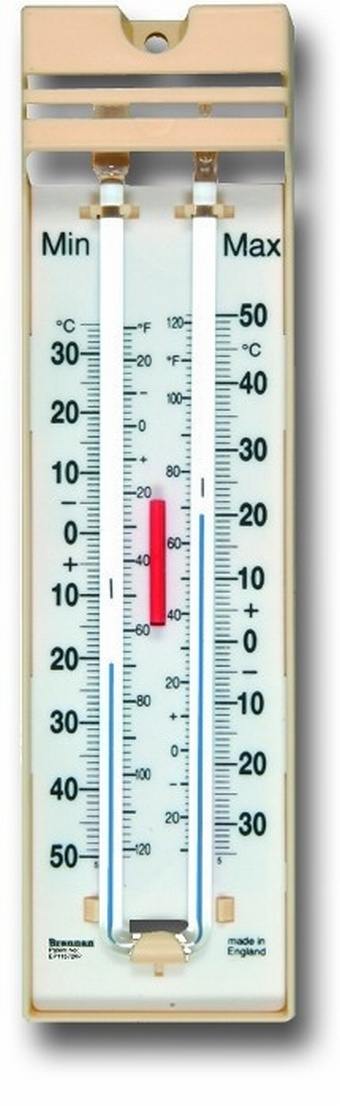 Max-Min Spirit Thermometer 12-403-3 Tools & Equipment > Thermometers