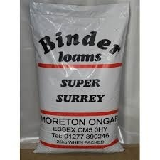 Binders Super Surrey Loam 25kg Amenity Products > Turf Dressings