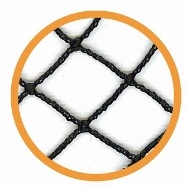 Anti Bird Netting Black 20mmX17mm mesh Netting & Windbreaks > Anti Bird Netting