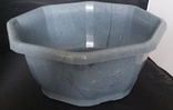 Sully Grey Marble Bowl  24/case