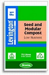 Levington F1 Seed & Modular Low Nutrient Compost 75L