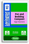 Levington M3 Pot/Bedding High Nutrient Compost 75L