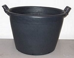 Containers 60 litre with handles   (dia=55cm h=38cm)